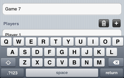 Scrolling a UITableView when displaying the keyboard - Sean Carpenter
